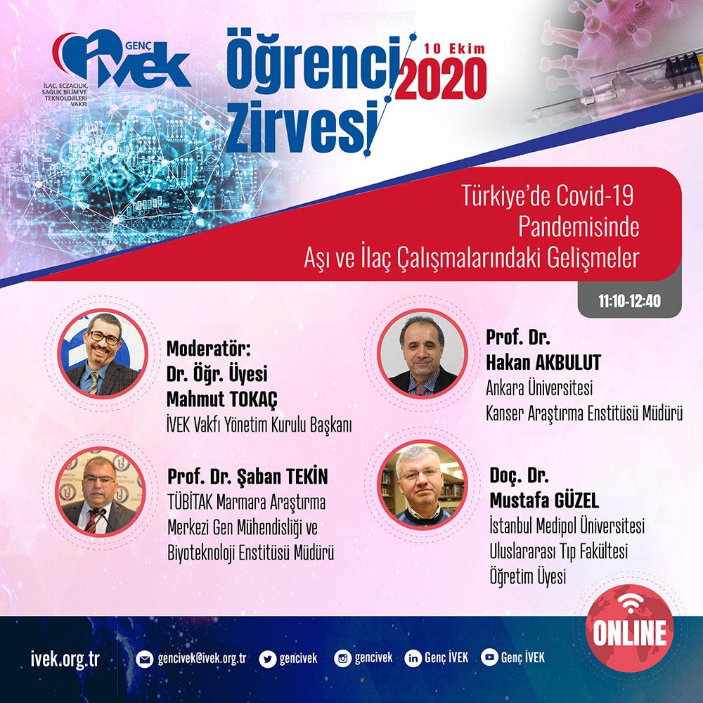 Türkiye'de Covid-19 Pandemisinde Aşı ve İlaç Çalışmalarındaki Gelişmeler