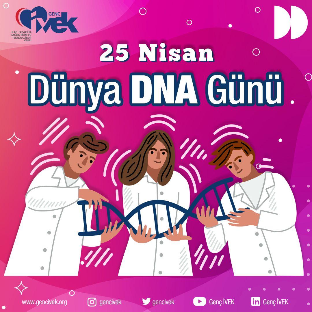 25 Nisan Dünya DNA Günümüz Kutlu Olsun!