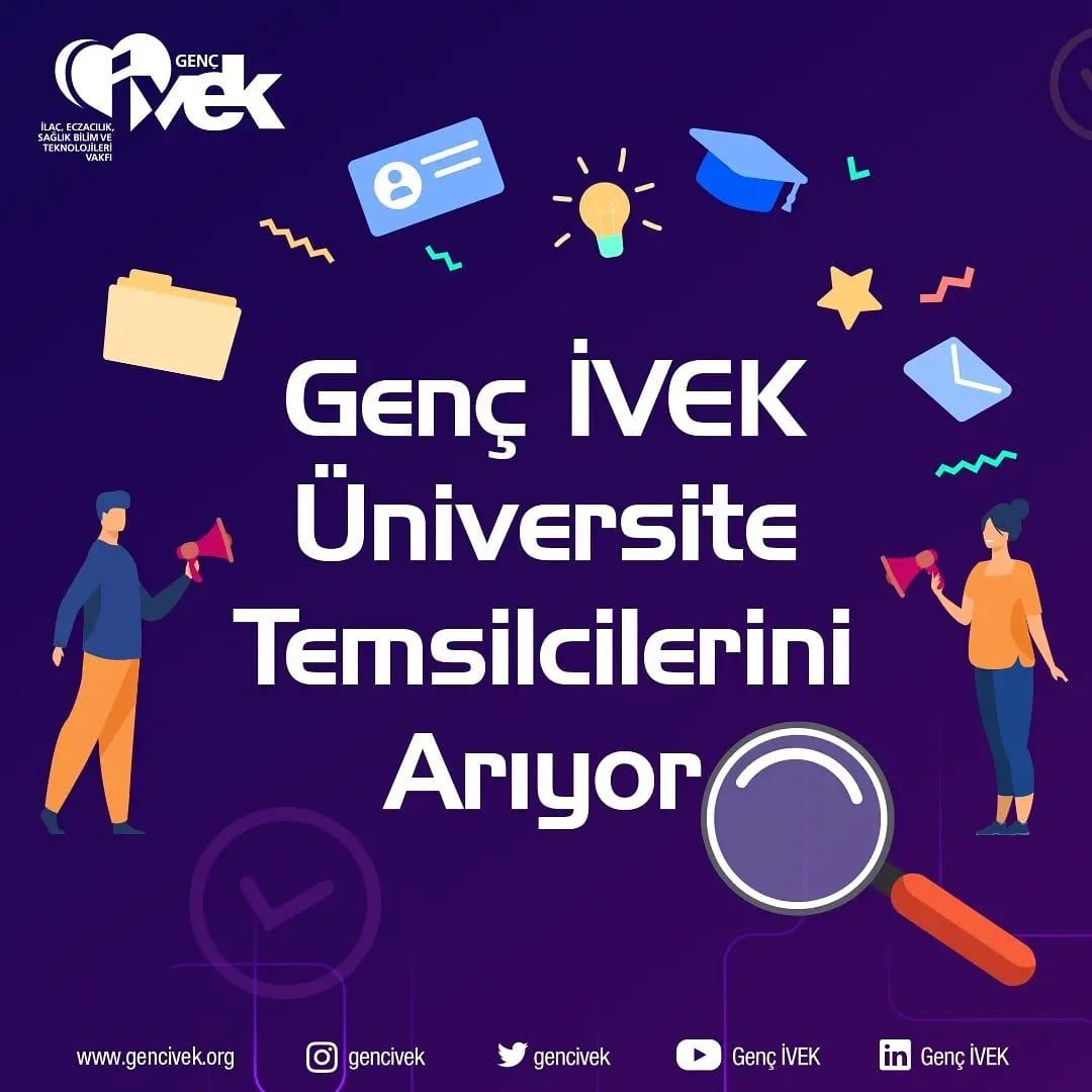 Genç İVEK Üniversite Temsilcilerini Arıyor !!!